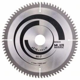 Universal sågklinga Bosch; MULTI MATERIAL; Ø216 mm