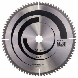 Sågklinga för trä Bosch; MULTI MATERIAL; Ø305 mm