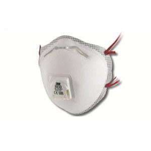 Skyddsmask med ventil 3M 8833; FFP3