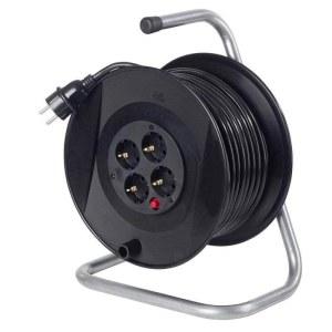 Förlängningssladd på kabelvinda AS-Schwabe H05VV-F 3G1,5; 40 m