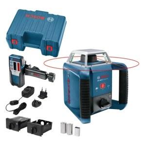 Rotationslaser Bosch GRL 400 H + lasermottagare LR 1