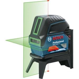 Linjelaser Bosch GCL 2-15 G grön + hållare RM1