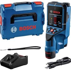 Lokaliseringsinstrument för metall och trä Bosch D-Tect 200 C; 12 V; 1x2,0 Ah batt.