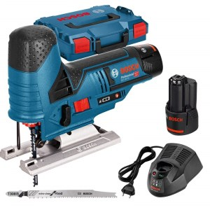 Sticksåg Bosch GST 12V-70 Professional; 12 V; 2x3,0 Ah batt.