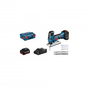 Sticksåg Bosch GST 18 V-LI S; 18 V; 2x4,0 Ah batt.