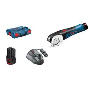 Batteridriven universalsax Bosch GUS 12V-300; 12 V; 2x2,0 Ah batt.