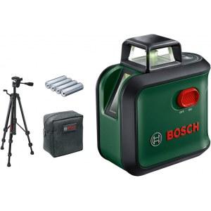 Linjelaser Bosch AdvancedLevel + tillbehör