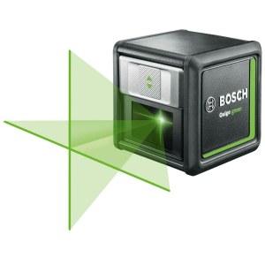 Korslinjelaser Bosch QUIGO Green + Stativ MM2