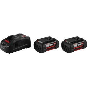 Batteri Bosch GBA; 36 V; 2x6,0 Ah + laddare GAL 3680 CV