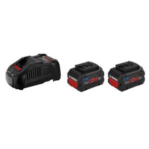 Tillbehörsset Bosch GBA ProCORE; 18 V; 2x5,5 Ah batteri. + laddare GAL 1880CV