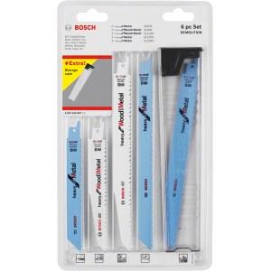 Sticksågsbladsats Bosch 260701090; 6 st.