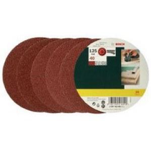 Sandpapper för excenterslipar Best for Wood; 125 mm; K40; 25 st.