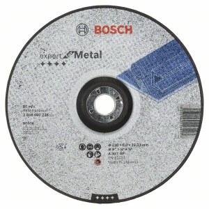Slipskiva Bosch A 30 T BF; 230x6 mm