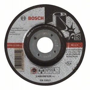 Slipskiva Bosch AS 30 S INOX BF; 115x6 mm