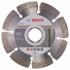 Diamantkapskiva Bosch PROFESSIONAL FOR CONCRETE; 115 mm