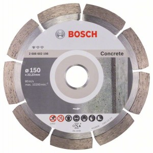 Diamantkapskiva Bosch PROFESSIONAL FOR CONCRETE; 150 mm