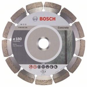Diamantkapskiva Bosch PROFESSIONAL FOR CONCRETE; 180 mm