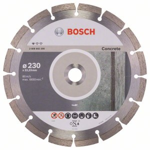 Diamantkapskiva Bosch PROFESSIONAL FOR CONCRETE; 230