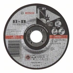 Skär-, slipskiva Bosch A46 S BF; 125x2,5 mm