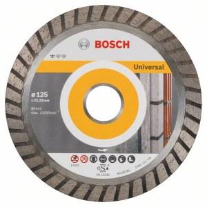 Diamantkapskiva Bosch PROFESSIONAL FOR UNIVERSAL TURBO; 125 mm