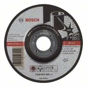 Slipskiva Bosch AS 30 S INOX BF; 125x6 mm