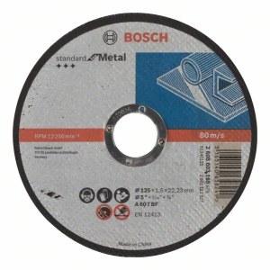 Kapskiva Bosch Standard; 125x1,6 mm