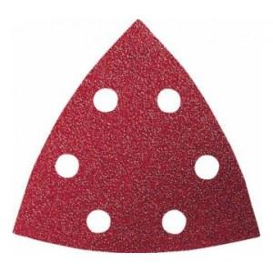 Sandpapper för multislipar Red Wood-top; 93 V; K180; 5 st.