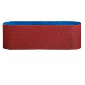 Slipband för bandslipar Bosch 2608606017; 65x410 mm; K80; 3 st.