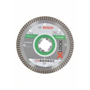Diamantkapskiva Bosch X-LOCK Best for Ceramic Extra Clean Turbo; 125 mm