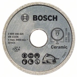 Diamantkapskiva Bosch PKS 16 Multi Ceramics; 65 mm