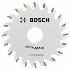 Sågklinga för trä Bosch Multi Precision; 65x1,6x15,0 mm; Z20
