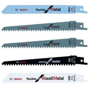 Sticksågsbladsats Bosch F016800307; 5 st.