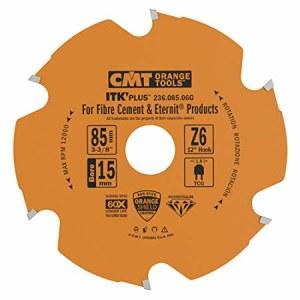 Sågklinga för cement CMT 85x1,8x15; Z6; 12°
