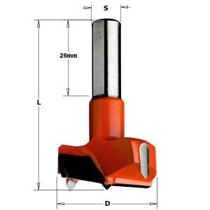 Forstner kvistborr CMT; S=10 mm; D=15 mm