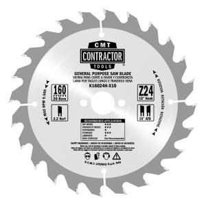 Sågklinga för trä CMT 136x1.5x20; Z18; 15°