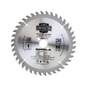 Sågklinga för trä CMT 160x2.2x20; Z40; 10°