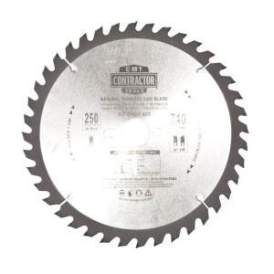 Sågklinga för trä CMT K25040M-X05; d=250 mm; 1 st.