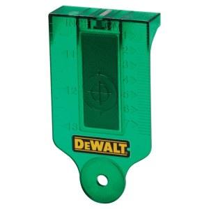 Måltavla för laser DeWalt DE0730G-XJ