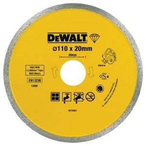 Diamantdisk för torrskärning DeWalt DT3715-QZ; 110 mm
