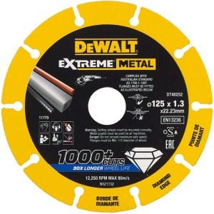 Diamantskiva DeWalt DT40252-QZ; 125x22,23x1,3 mm