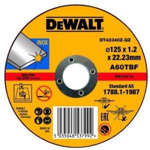 Kapskiva DeWalt DT42340Z-QZ; 125x1,2 mm