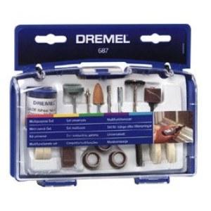 Tillbehörssats med många användningsområden Dremel 687