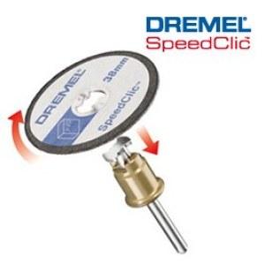 skivor för plastskärning Dremel SC476, 38,0 mm; 5 st.