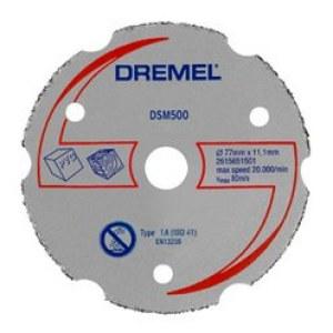 Universalkapskiva i hårdmetall för planskärning Dremel DSM500; st., Lämplig för Dremel DSM20 verktyg