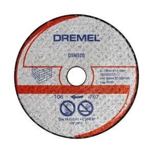 Kapskiva för mursten Dremel 2615S520JB; 77 mm