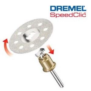diamantkapskiva Dremel SC545, 38,0 mm
