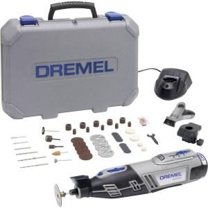 Batteridriven flerfunktionsverktyg Dremel 8220 2/45 + 45 tillbehör