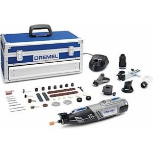 Batteridriven flerfunktionsverktyg Dremel 8220 5/65 Platinum + 65 tillbehör