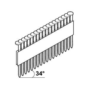 Spik Essve; 3,1x90 mm; 34°; 1240 st.