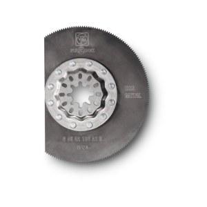 Rund segmentsågklinga Fein 63502106210; HSS